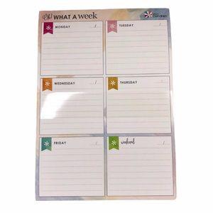 Erin Condren Planner Notepad Daily Undated